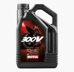 MOTUL 300V RACING OIL10W40 superbikes