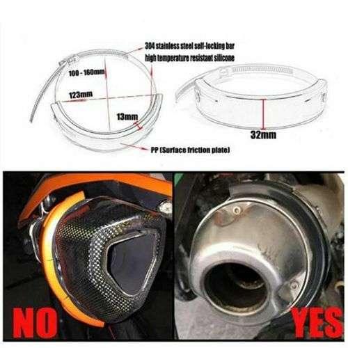 Motorcycle Exhaust Slider Crash Protection