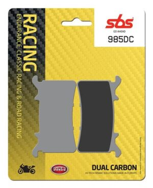 SBS motorcycle brake pads